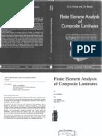 Finite Element Analysis of Composite Laminates - JN Reddy