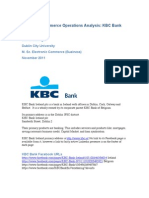 Facebook Commerce Analysis - KBC Ireland