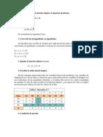 el método simplex
