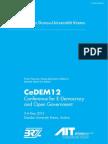 CeDEM12