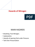 Hazards of Nitrogen on Merchant vessels