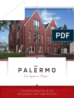 Verkoopbrochure 11 appartementen Palermo te Bergen