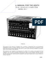 Educational Analog Computer EC1-OP