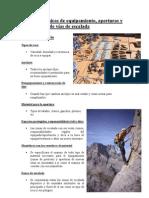 Curso de Tecnicas de Equipamiento de escalada (FEMPA)