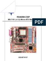 E7191v1.3(CSIP) Motherboard