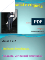Aulas Cerimonial e Etiqueta Novas-2009