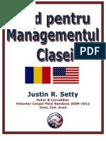 Ghid Pentru Managementul Clasei