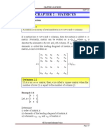 Notes Chapter 2_Matrices