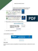 Manual Del Usuario-sistema de Topico