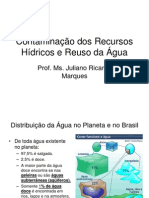 Aula5-ContaminaCAo Dos Recursos hIdricos Reuso Da Agua