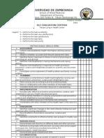 Rle Checklist Tetuan