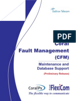 CFM Maintenance and Database Support