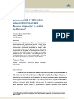 Conhecimento e Tecnologias Visuais