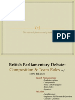 British Parliamentary