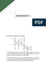 Assignment1 Solution Final
