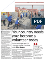 Your Country Needs You Become a Volunteer Today (the Star)