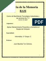 Historia Memoria Ram