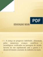 EDUCAÇAO NOVA
