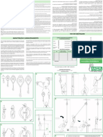 Self-Retracing Lanyards Instruction Manual - BR-PT
