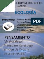 EXPOSICIÓN DE ECOLOGÍA