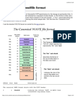 Microsoft WAVE Soundfile Format