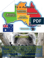 Sports in Australia