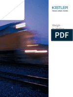 스위스 Kistler사 철도 차량 무게 계측 시스템(WIM)