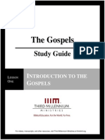 The Gospels - Lesson 1 - Study Guide