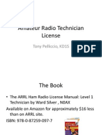 Amateur Radio Technician License