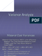 20 Variance Analysis