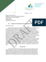 Draft Letter to Secretary Allan 9-6-12