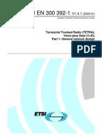 ETSI EN 300 392-1 V1.4.1-2009