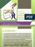 Tema 4 -- La evaluación formativa. Evaluar para aprender E7