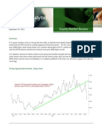 Fusion Equity Market Review for September 10th 2012
