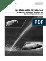 Meteorite Teachers Guide