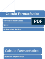 Calculo Farmaceutico Notacion Cientifica Razon Ppt2.1