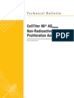 CellTiter 96 AQueous Non-Radioactive Cell Proliferation Systems Protocol
