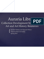 Collection Development Presentation