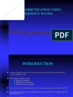 Pc-pc Communication Using Frequency Waves