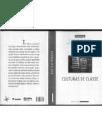 Cap_FONTES e NEGRO_ Cultura de Classe
