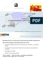 Technical Committee 32 Communications, Networks and Systems Interconnection