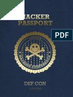 DEFCON 20 DIY Hacker Passport