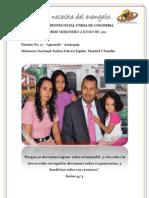 Informe Misionero a Junio 2012 - Apartadó