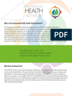 Utah Environmental Public Health Tracking Network