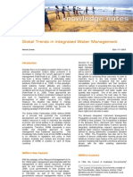 2010 01 Global Trends in Integrated Water Management - Synexe Knowledge Note