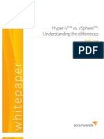 vSphere HyperV Differences Whitepaper