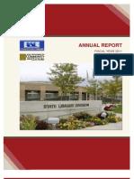 Utah State Library Annual Report 2011