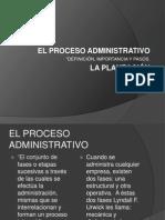 Proceso Administrativo y Planeacion