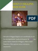 Bernardo o`Higgins Riquelme