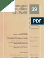 Evolución del producto por regiones 1960-1992